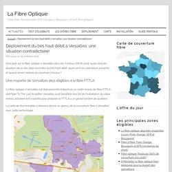 Fibre optique à Versailles (78-Yvelines): bilan du déploiement!