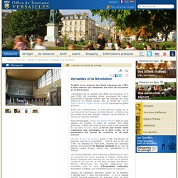 Versailles et la Révolution