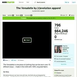 The Versalette by {r}evolution apparel by {r}evolution apparel