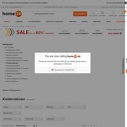 Kleiderständer versandkostenfrei online bestellen