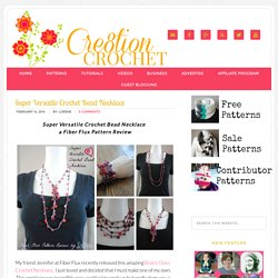 Super Versatile Crochet Bead Necklace - Cre8tion Crochet
