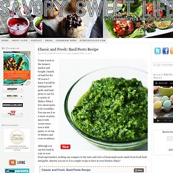 Versatile Basil Pesto Recipe