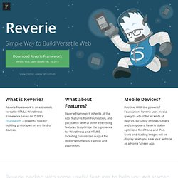 Reverie: Versatile HTML5 WordPress Framework | ThemeFortress: WordPress Themes and Plugins