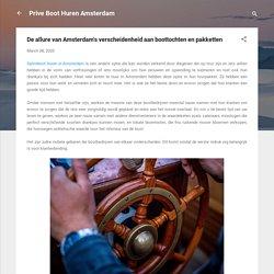 De allure van Amsterdam's verscheidenheid aan boottochten en pakketten