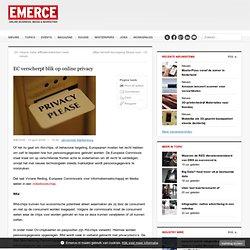 EC blik op online privacy
