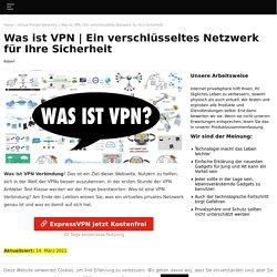 Einverschlüsseltes Netzwerk für Ihre Sicherheit