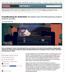 Qabel: Ende-zu-Ende-Verschlüsselung gegen Überwachung