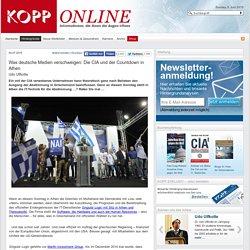 Was deutsche Medien verschweigen: Die CIA und der Countdown in Athen