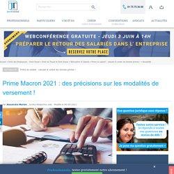 Prime Macron reconduite en 2020, êtes-vous éligible ?