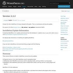 Version 3.3.2