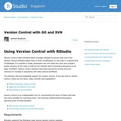 Version Control with Git and SVN