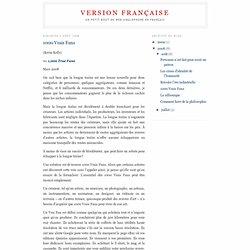 Version Française: 1000 Vrais Fans