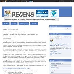 RECENS en version bêta-test - Le blog de RECENS le logiciel de saisie de relevés de recensement