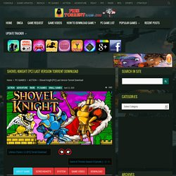 Shovel Knight [PC] Last Version Torrent Download