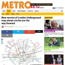 New version of London Underground map shows circles are the way forward