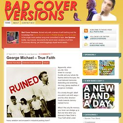 Bad Cover Versions // The Worst Cover Versions Of All Time, In One Unhelpful Repository