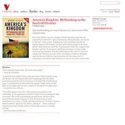 America's Kingdom - Robert Vitalis
