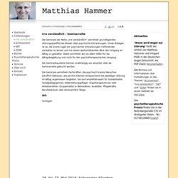 Irre verständlich - Matthias Hammer - Bücher und Fortbildungen