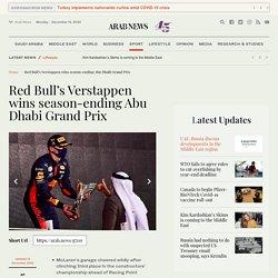 Red Bull's Verstappen wins season-ending Abu Dhabi Grand Prix