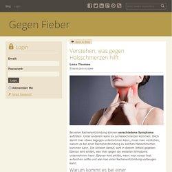 Verstehen, was gegen Halsschmerzen hilft - Gegen Fieber : powered by Doodlekit