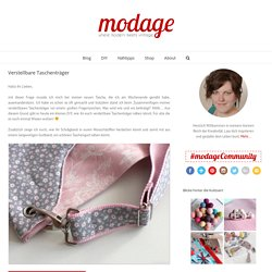 Verstellbare Taschenträger - modage