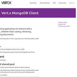 Vert.x 3 MongoDB Conf