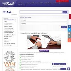 Vertaalbureau Van Dale Vertalingen