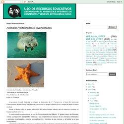 Uso de Recursos Educativos Abiertos para AICLE: Animales Vertebrados e Invertebrados