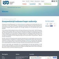 Essaywedstrijd toekomst hoger onderwijs - Interstedelijk Studenten Overleg - Vertegenwoordigt studerend Nederland