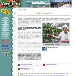 Verti-Gro Company Profile