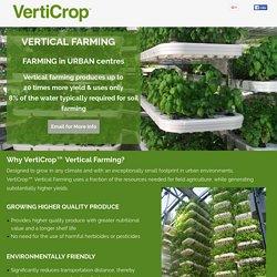 Vertical Farming - Verticrop