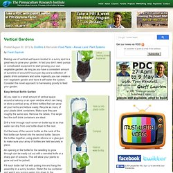 Vertical Gardens Permaculture Courses