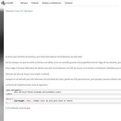 Centrar verticalmente con CSS; 6 formas diferentes de lograrlo