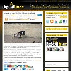 VertiGo: A Wall-Climbing Robot From Disney