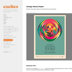 Vertigo Movie Poster - excites - the Portfolio of Simon C. Page
