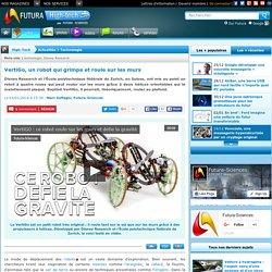 VertiGo, un robot qui grimpe et roule sur les murs