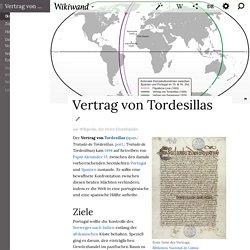 Vertrag von Tordesillas - Wikiwand