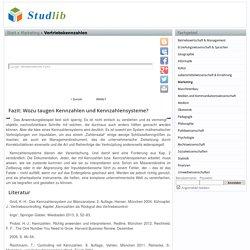 Vertriebskennzahlen - Studlib - freie digitale bibliothek