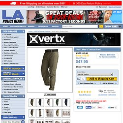 VertX Mens Tactical Pant LAPG Favorite