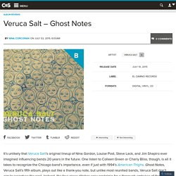 Veruca Salt – Ghost Notes