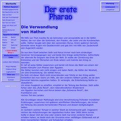 Die Verwandlung von Hathor, auch mit Online Shop Esoterik Versand