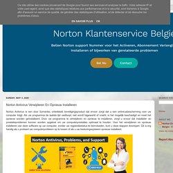 Norton antivirus Belgie: Norton Antivirus Verwijderen En Opnieuw Installeren