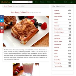 Very Berry Coffee Cake Recipe