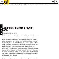 A Very Brief History of Comic Books