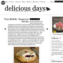 Very British – Scones to live by