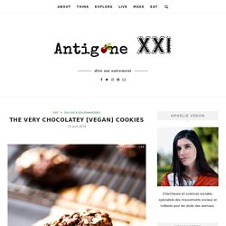 The very chocolatey [vegan] cookies