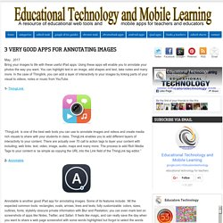 Educational Technology and Mobile Learning: 3 Very Good Apps for Annotating Images
