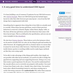 A very good time to understand CSS layout