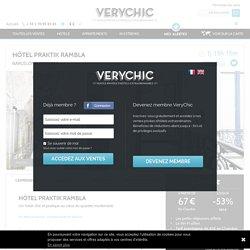 Hôtel Praktik Rambla en vente privée chez VeryChic - Ventes privées de voyages et d'hôtels extraordinaires