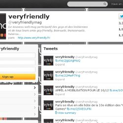 veryfriendly (veryfriendlymag) on Twitter